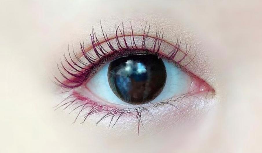 【カラコンレポ】ウェイブワンデー UVリングプラス ナチュラルベール/黒目を優しく包み込むナチュラルブラウンカラコン